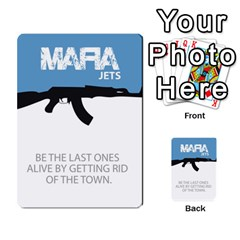 Mafia By Tim Weaver   Multi Purpose Cards (rectangle)   Lzwv2z3txa7c   Www Artscow Com Front 5