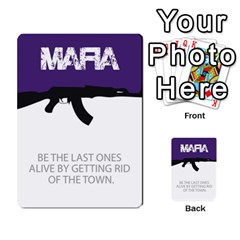Mafia By Tim Weaver   Multi Purpose Cards (rectangle)   Lzwv2z3txa7c   Www Artscow Com Front 49