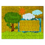 Nature in words - Jigsaw Puzzle (Rectangular)