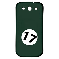 British Racing Green Samsung Galaxy S3 S Iii Classic Hardshell Back Case by PocketRacers
