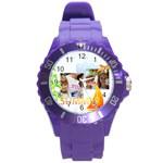 summer - Round Plastic Sport Watch (L)