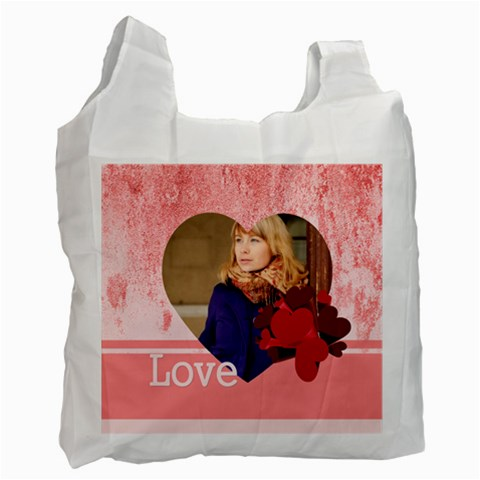 Love By Anita   Recycle Bag (one Side)   Utdf9o8blg7o   Www Artscow Com Front