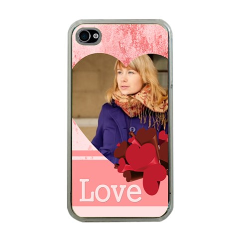 Love By Anita   Apple Iphone 4 Case (clear)   Lndzyqmds1lm   Www Artscow Com Front