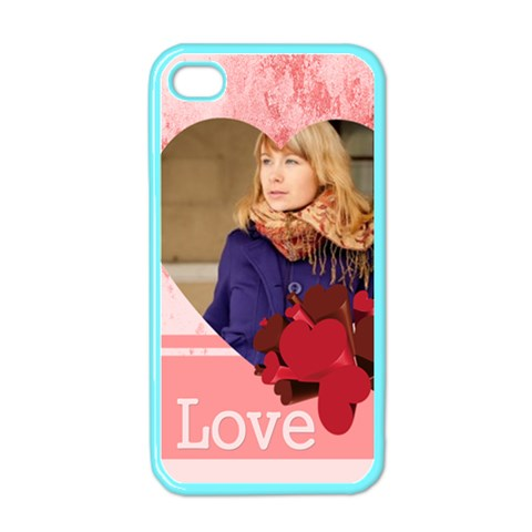 Love By Anita   Apple Iphone 4 Case (color)   A9v77y1lyb72   Www Artscow Com Front