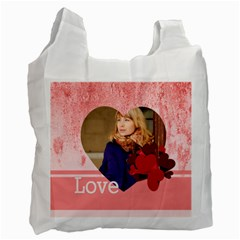 Love By Anita   Recycle Bag (two Side)   Yx87r14gwi11   Www Artscow Com Front