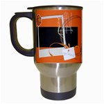 Basketball Travel Mug - Travel Mug (White)