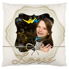 Love By Ki Ki   Large Cushion Case (two Sides)   4c8q07arc4lw   Www Artscow Com Front
