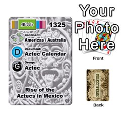 Project Timeline 1 By Steve Cates   Playing Cards 54 Designs   0592d0pl4u96   Www Artscow Com Front - Diamond2