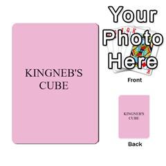 Gtc Plus Darin By Ben Hout   Multi Purpose Cards (rectangle)   Kbeygjrfw1yf   Www Artscow Com Back 53