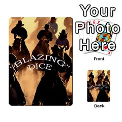 Blazing Dice Shared  1 By Dave Docherty   Multi Purpose Cards (rectangle)   Q4bf63028ym9   Www Artscow Com Front 1