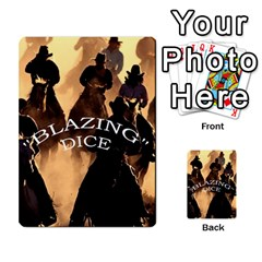 Blazing Dice Shared  1 By Dave Docherty   Multi Purpose Cards (rectangle)   Q4bf63028ym9   Www Artscow Com Front 52