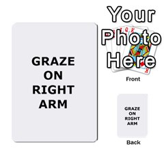 Blazing Dice Shared  1 By Dave Docherty   Multi Purpose Cards (rectangle)   Q4bf63028ym9   Www Artscow Com Back 23