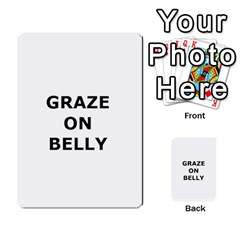 Blazing Dice Shared  1 By Dave Docherty   Multi Purpose Cards (rectangle)   Q4bf63028ym9   Www Artscow Com Back 35