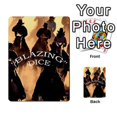 Blazing Dice Shared  1 By Dave Docherty   Multi Purpose Cards (rectangle)   Q4bf63028ym9   Www Artscow Com Front 47