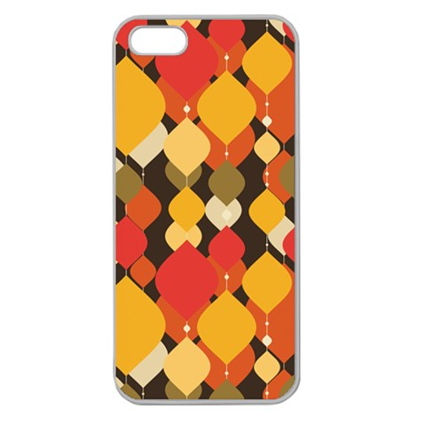 Pattern By Divad Brown   Apple Seamless Iphone 5 Case (clear)   9sqixazq9tfb   Www Artscow Com Front