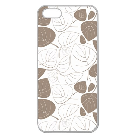 Pattern By Divad Brown   Apple Seamless Iphone 5 Case (clear)   793kgggrtnw1   Www Artscow Com Front