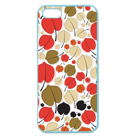 Pattern By Divad Brown   Apple Seamless Iphone 5 Case (color)   Zp1rj5ps6h9r   Www Artscow Com Front
