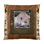 Meow Cushion Case (1 Sided) - Standard Cushion Case (One Side)