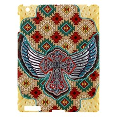 South West Leather Look Apple Ipad 3/4 Hardshell Case by artattack4all
