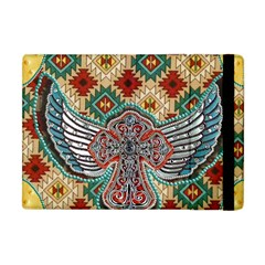 South West Leather Look Apple Ipad Mini Flip Case by artattack4all