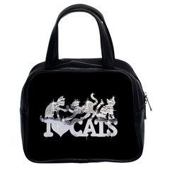 Catz Twin Sided Satched Handbag