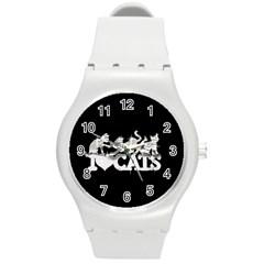 Catz Round Plastic Sport Watch Medium by artattack4all