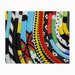 Multi-Colored Beaded Background Glasses Cleaning Cloth by artattack4all