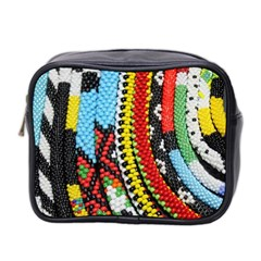 Multi Colored Beaded Background Twin Sided Cosmetic Case by artattack4all