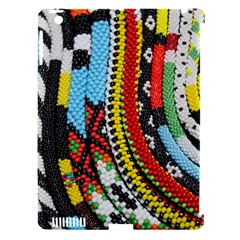 Multi Colored Beaded Background Apple Ipad 3/4 Hardshell Case (compatible With Smart Cover) by artattack4all