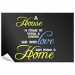A House A Home - Canvas 12  x 18