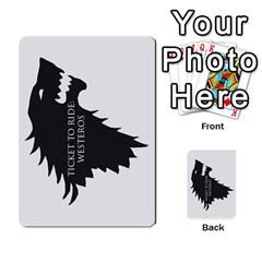 Ttr Westeros By Ryan   Multi Purpose Cards (rectangle)   Ey994ze1w3df   Www Artscow Com Back 45