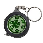 Leather-Look Irish Clover Ball Measuring Tape