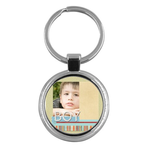 Kids By Jacob   Key Chain (round)   Netids1igeke   Www Artscow Com Front