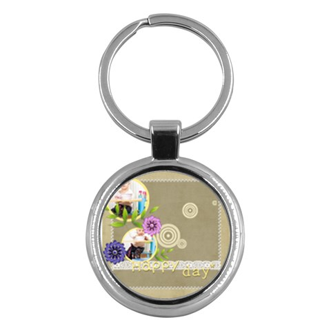Kids By Jacob   Key Chain (round)   Ivub75lh3snp   Www Artscow Com Front