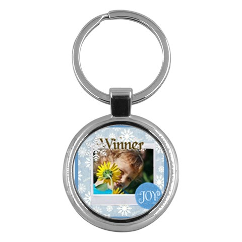 Kids By Jacob   Key Chain (round)   96sbrg8cd1p8   Www Artscow Com Front