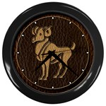Aries Wall Clock (Black)