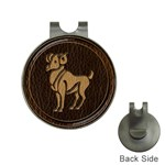 Aries Golf Ball Marker Hat Clip