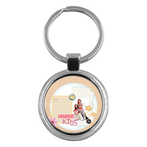 Kids By Betty   Key Chain (round)   8mj8gn3metoo   Www Artscow Com Front