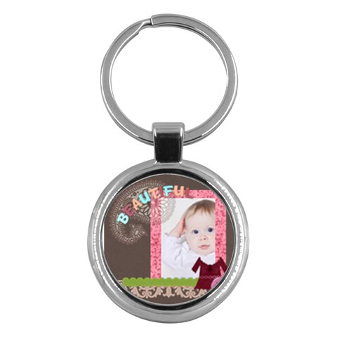 Kids By Betty   Key Chain (round)   N688j7zklrx5   Www Artscow Com Front