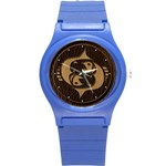 Pisces Round Plastic Sport Watch Small