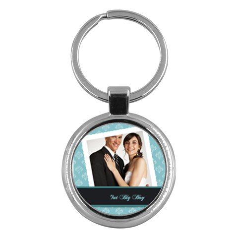 Wedding By Paula Green   Key Chain (round)   Lbh3dw6qm22o   Www Artscow Com Front