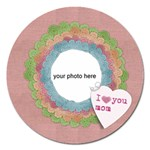 I love you mom magnet - Magnet 5  (Round)