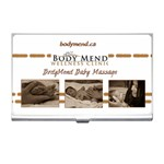 bodymend babymassage business card holder