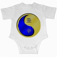 Yin Metal Ox Infant Creeper by whatsyoursign