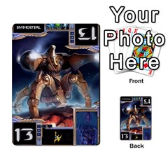 Starcraft Ii Planning Poker By Pek   Multi Purpose Cards (rectangle)   Ip32aoqffbgc   Www Artscow Com Front 8