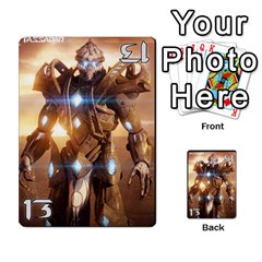 Starcraft Ii Planning Poker By Pek   Multi Purpose Cards (rectangle)   Ip32aoqffbgc   Www Artscow Com Front 21