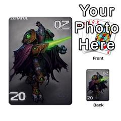 Starcraft Ii Planning Poker By Pek   Multi Purpose Cards (rectangle)   Ip32aoqffbgc   Www Artscow Com Front 22