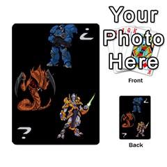 Starcraft Ii Planning Poker By Pek   Multi Purpose Cards (rectangle)   Ip32aoqffbgc   Www Artscow Com Front 25