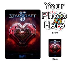 Starcraft Ii Planning Poker By Pek   Multi Purpose Cards (rectangle)   Ip32aoqffbgc   Www Artscow Com Back 28
