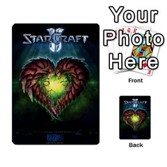 Starcraft Ii Planning Poker By Pek   Multi Purpose Cards (rectangle)   Ip32aoqffbgc   Www Artscow Com Back 45